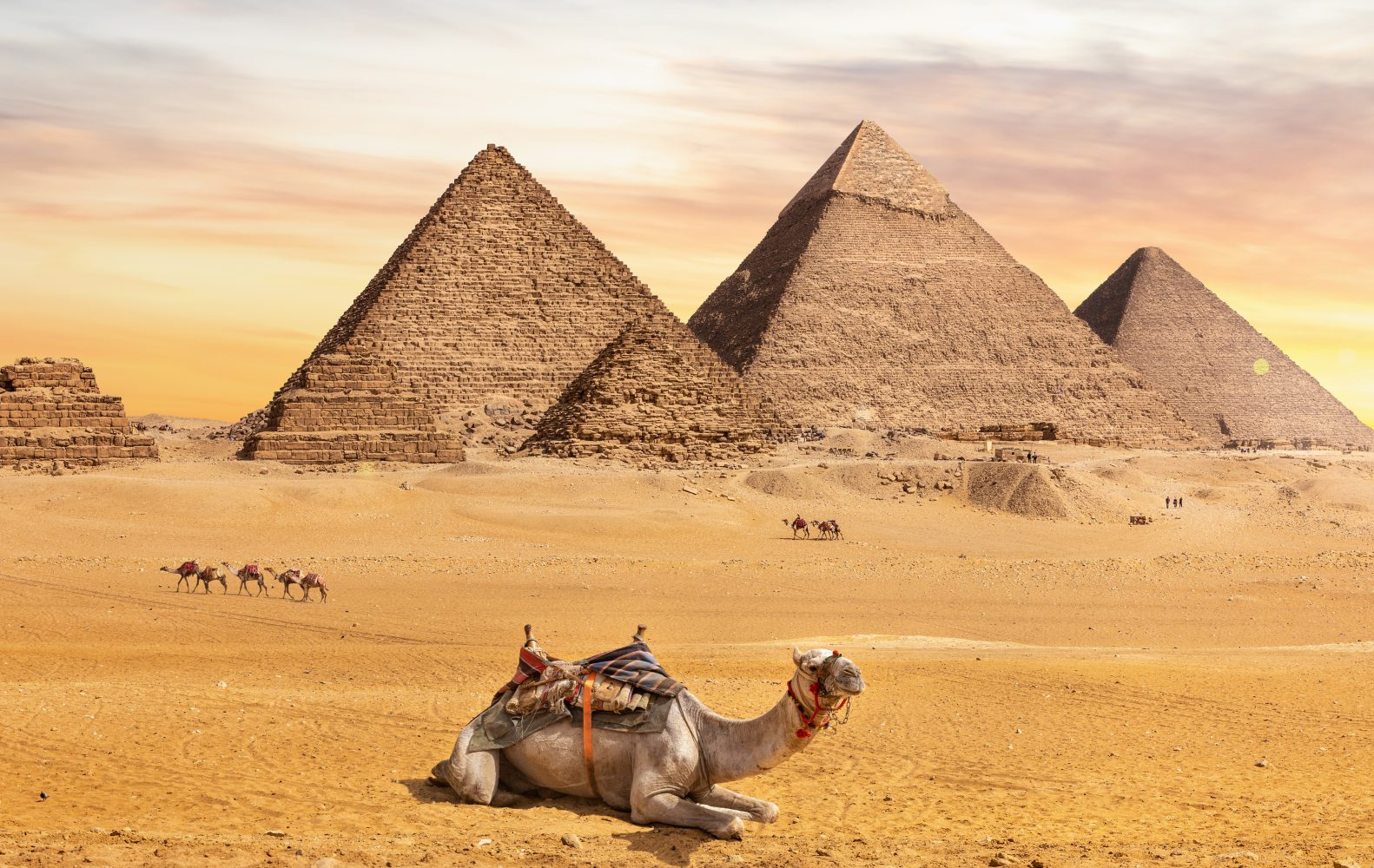 The,Great,Pyramids,,One,Of,The,Wonders,Of,The,World,
